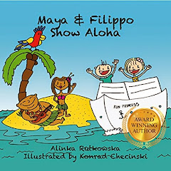 Maya and Filippo Show Aloha - 16 March