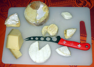 camember cheese plate
