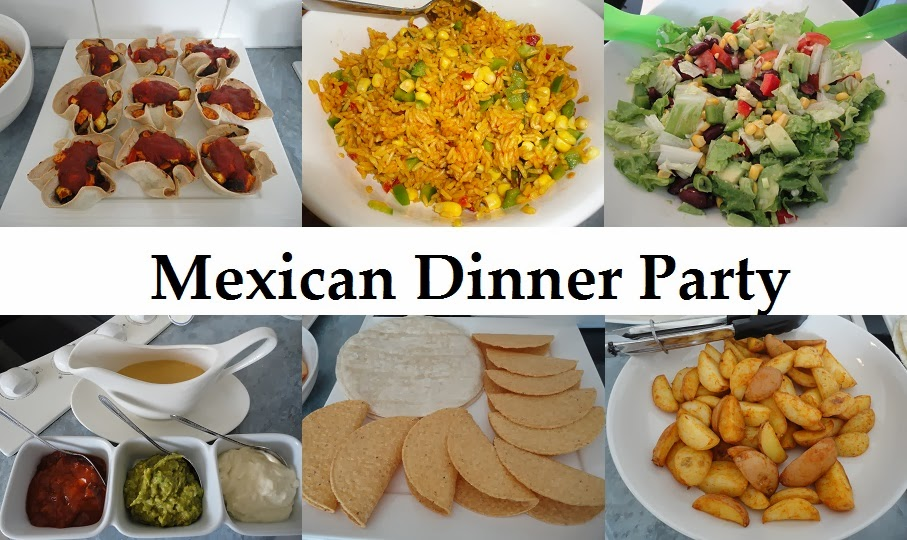 Mexican Menu Ideas For Dinner Party Part - 43: Want To See How I Host A Mexican Dinner Party?? Then Head Over To The Pink  Vegan Blog To See My Guest Post.