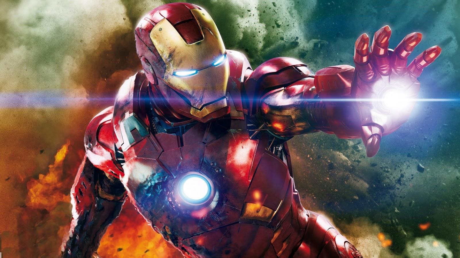 Iron Man Wallpaper 34447: Patada De Caballo: Iron Man
