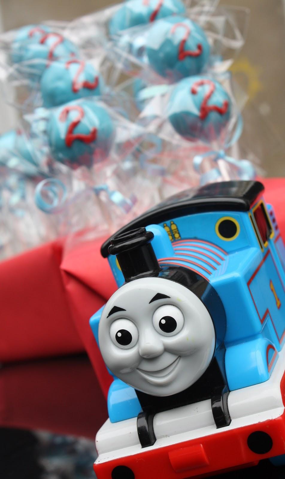 How To Make Thomas The Train Cake Pops