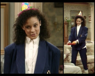 Cosby Show Huxtable fashion blog 80s sitcom Sondra Sabrina Le Beauf
