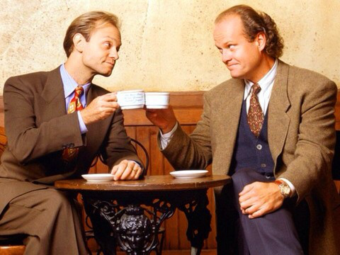 Frasier Crane, Nile Crane, badinage