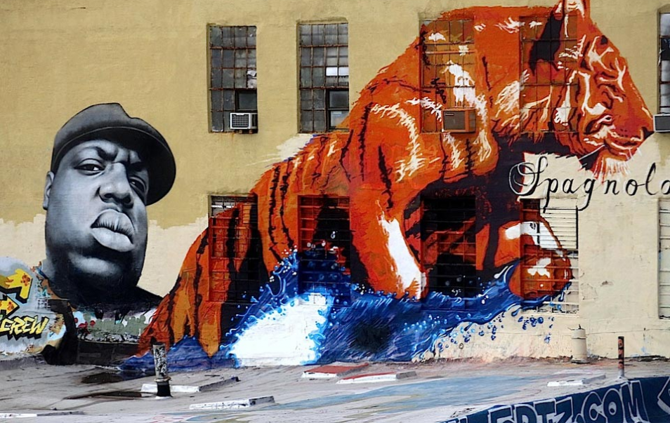 The Best Examples Of Street Art In 2012 And 2013 - Owen Dippie & Spagnola, 5 Pointz, Queens, NY