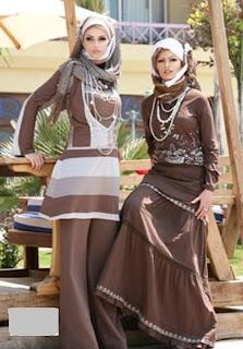 موضة ملابس المحجبات صيف 2013