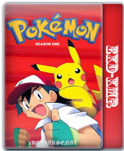Pokemon (1998) S01E01 Dual Audio TVRip 200mb