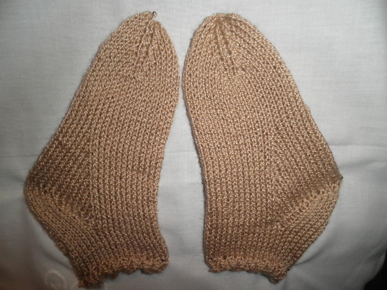 Artes anas calcetines beb f ciles a dos agujas - Como hacer calcetines de lana a dos agujas ...