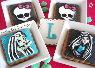 Galletas monster high