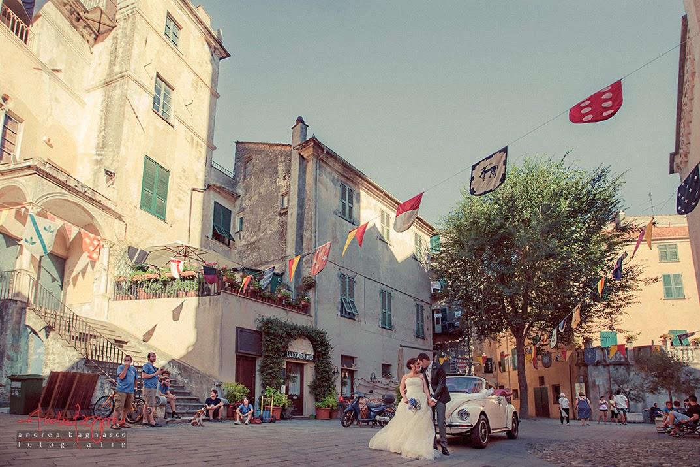 sposi e matrimonio a Finalborgo