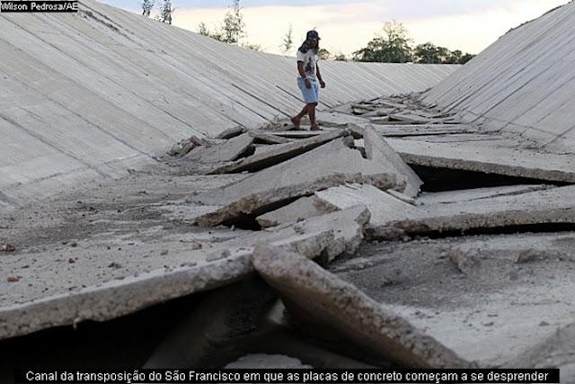 Crime nacional, Lula e a Transposição do Rio São Francisco Transposicao_abandonada_rio_sao_francisco