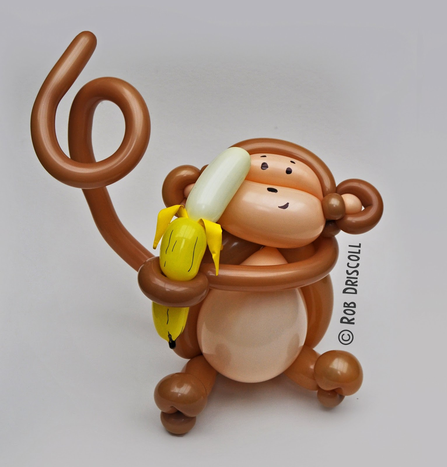 My Daily Balloon: 23rd May - Monkey