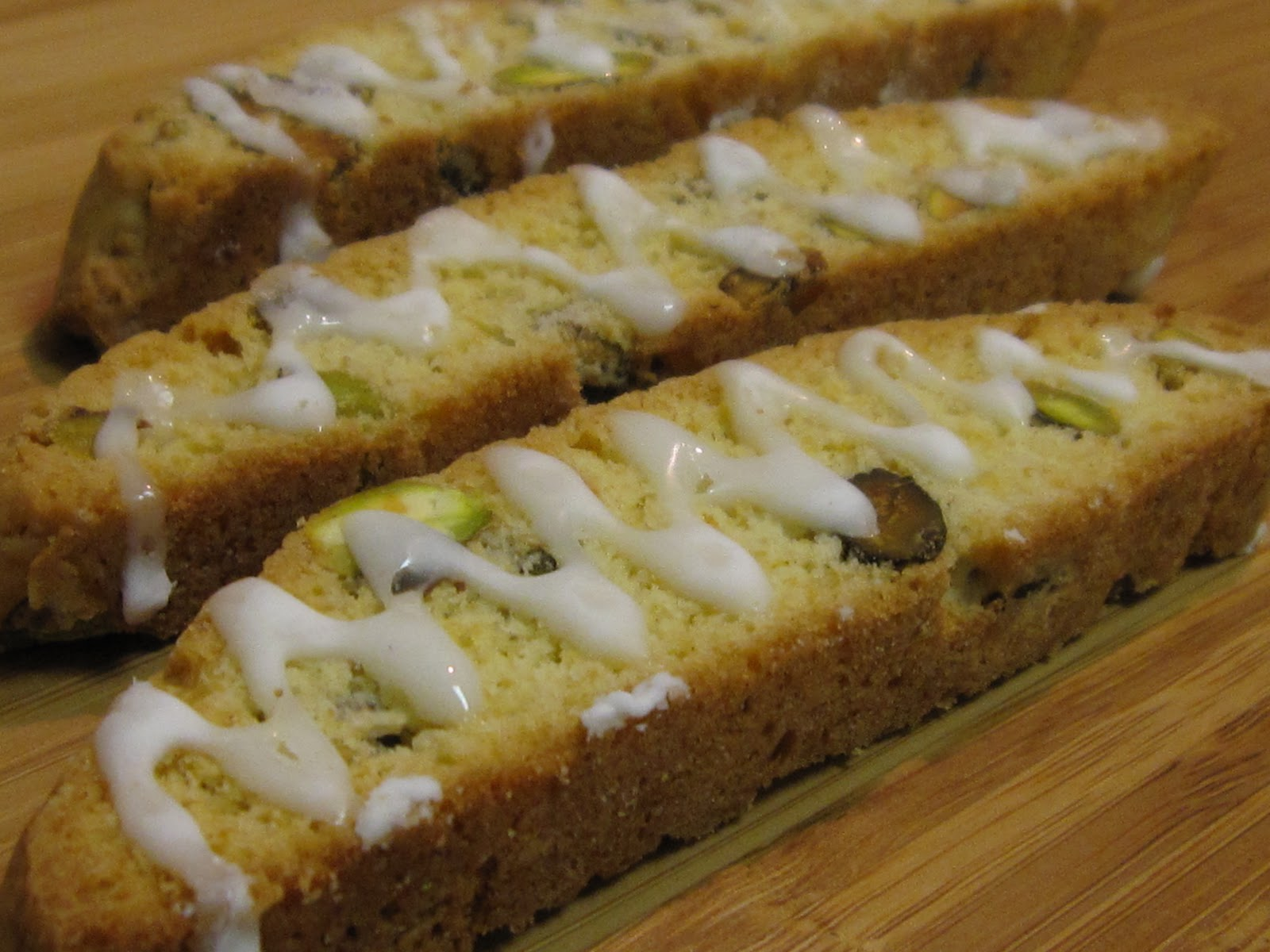 Pistachio And Meyer Lemon Biscotti Recipe — Dishmaps