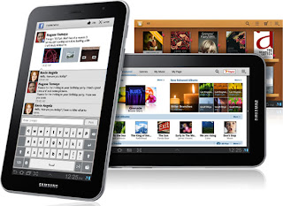 Samsung Galaxy Tab, Samsung Galaxy Tab 7.0 Plus, Samsung Tablets