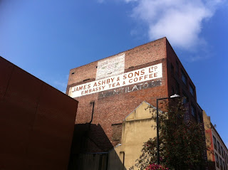 Ghost sign in Union Road, Southwark, London