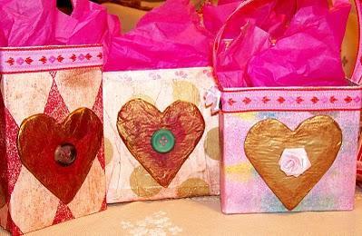 Como hacer cajas para regalo