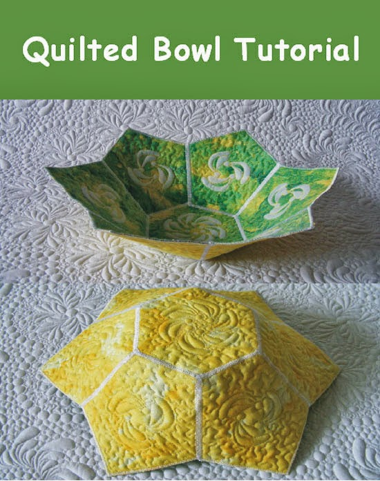 quilted bowl tutorial