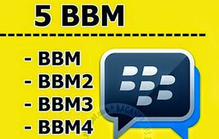 Download BBM2, BBM3 Dan BBM4 Free Stiker Apk Terbaru