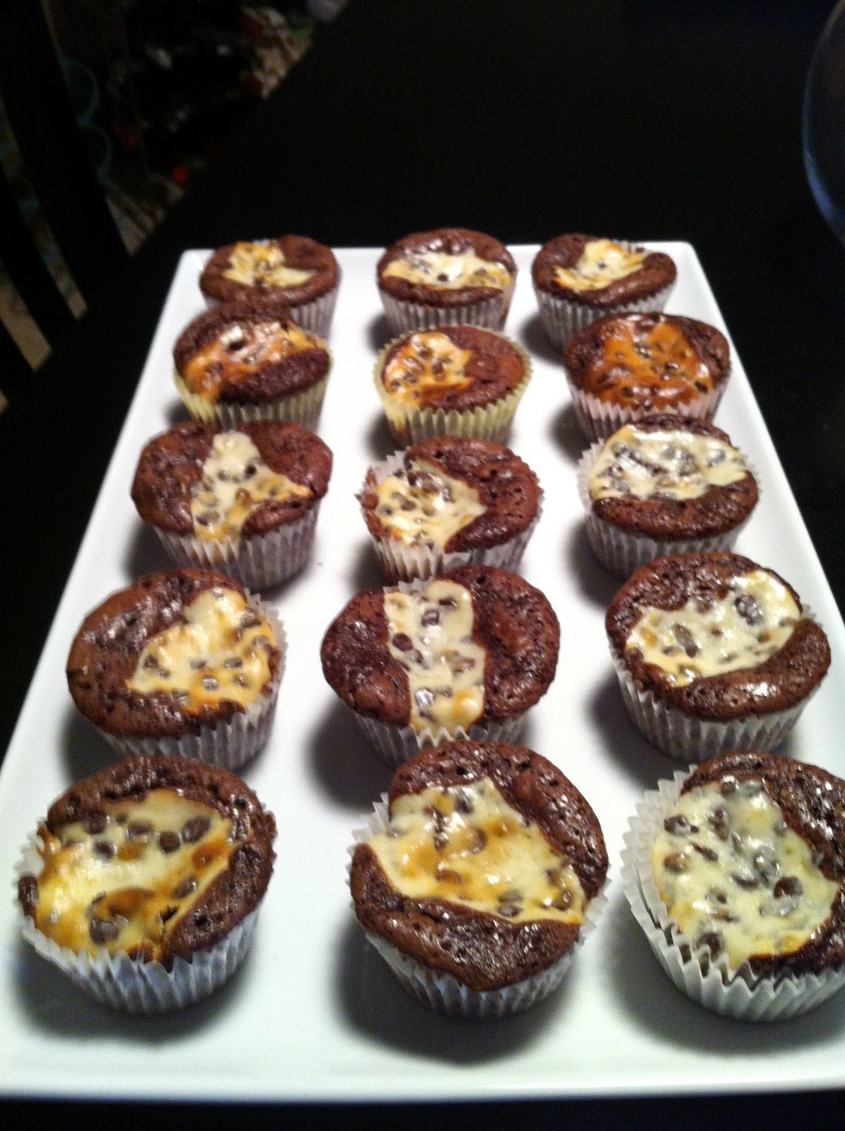 Black Bottom Cupcakes With Boxed Cake Mix
