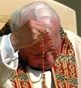 Recemos el Rosario con San Juan Pablo II