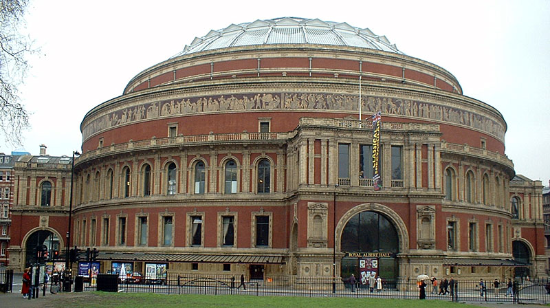 Barends blik royal albert hall londen 1871 for Door 12 royal albert hall