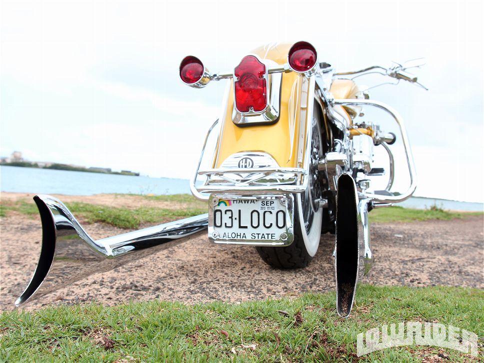 A Velha Escola 288: Harley Davidson Deluxe - Island Gold