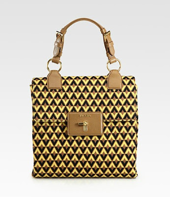 Prada tessuto jacquard top handle bag - iloveankara.blogspot.co.uk