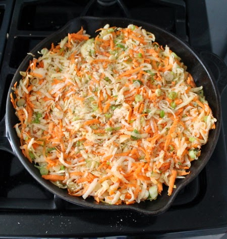 Rösti with sweet potato