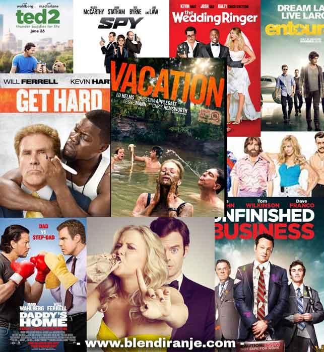 Lista najboljih komedija u 2015. godini