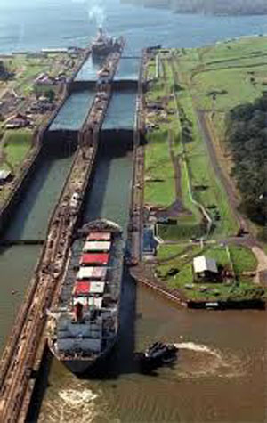 panama kanalı gemi geçiş
