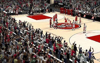 NBA 2K13 Toronto Raptors Crowd Fix Mod