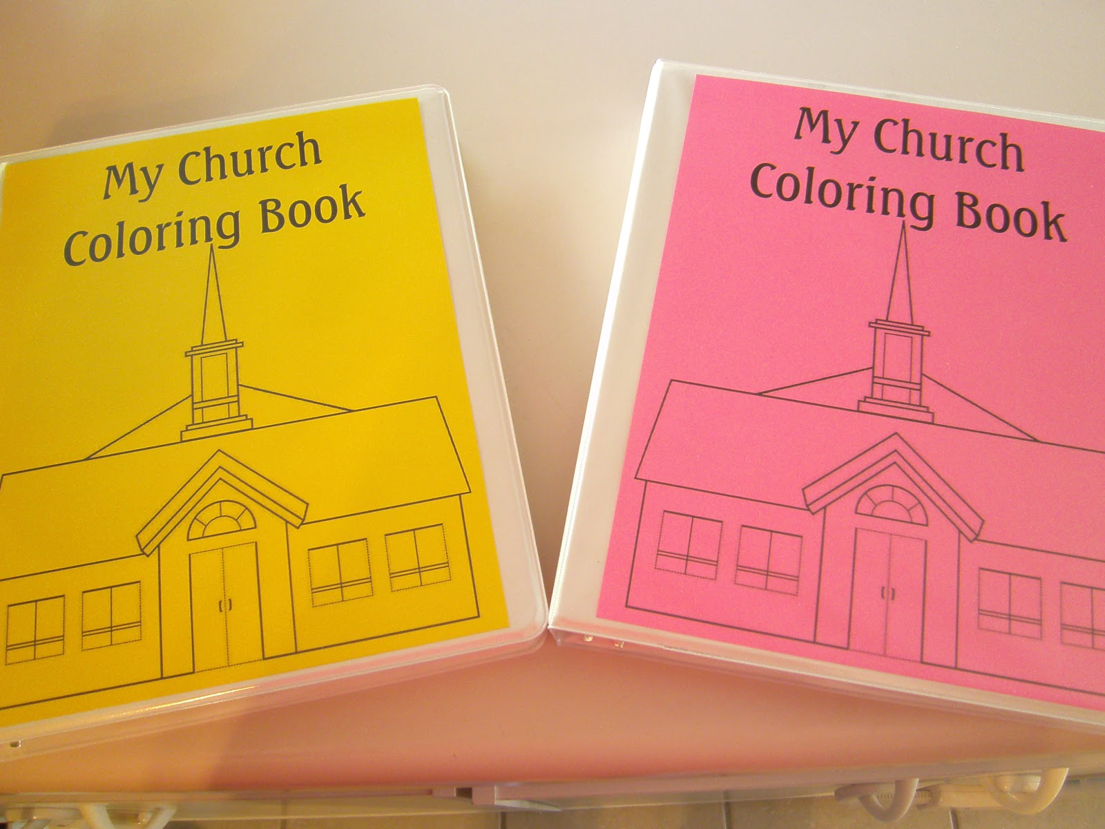 RobbyGurl\'s Creations: My Church Coloring Book