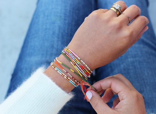 morse code bracelet tutorial