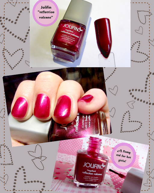 Review German Dream Nails Jolifin Nagellack REFLECTION VULCANO