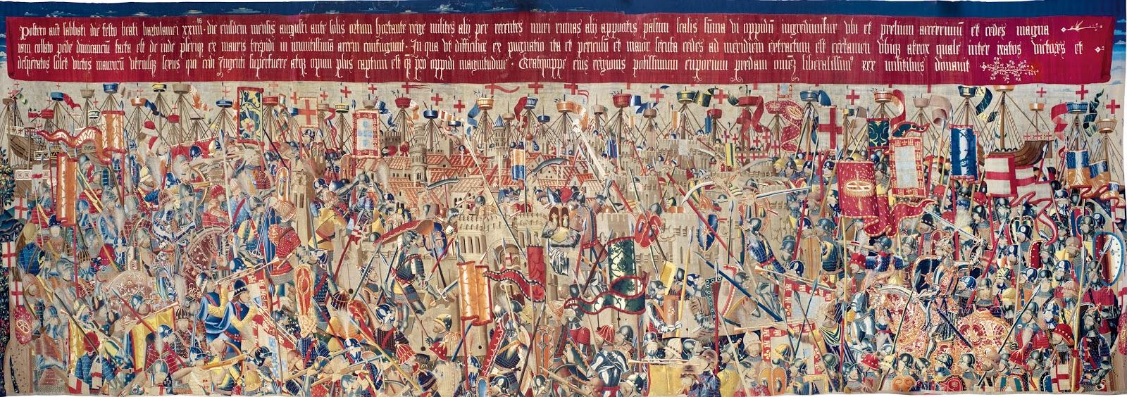 Los tapices de Pastrana. Siglo XV  3
