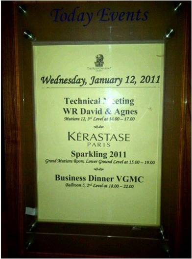 vgmc business dinner
