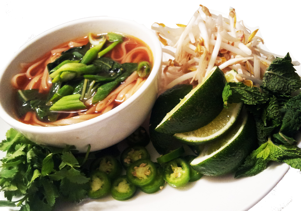 Profound Hatred of Meat: Vietnamese Pho: Vegetable Noodle Soup