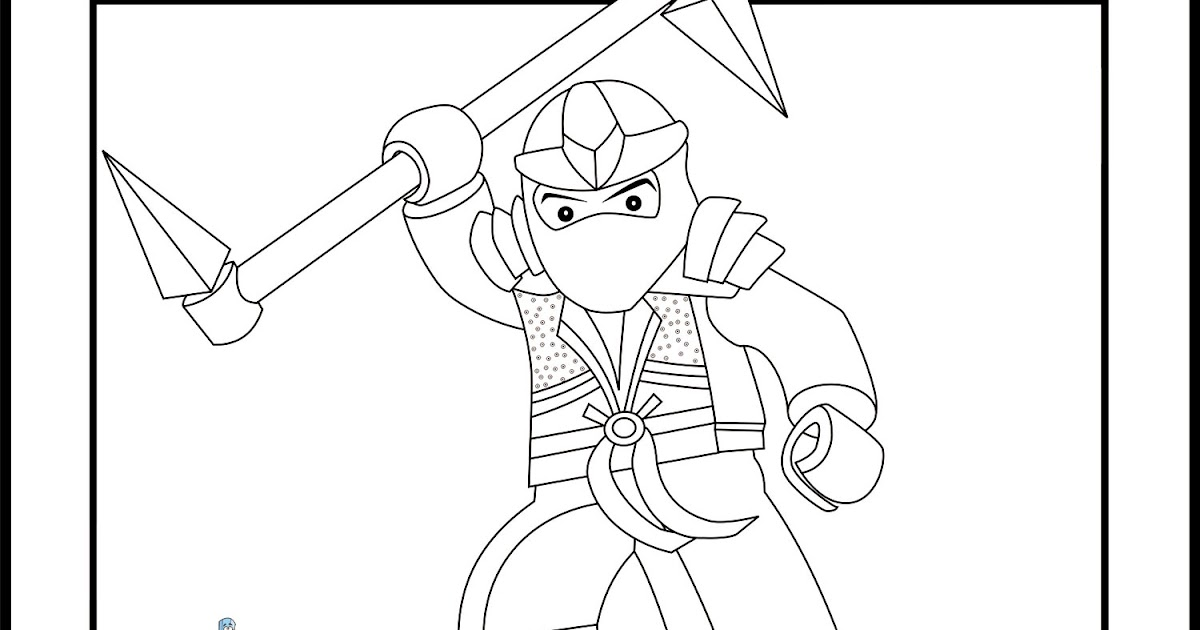 Lego ninjago coloring pages free printable pictures for Ninjago green ninja coloring pages