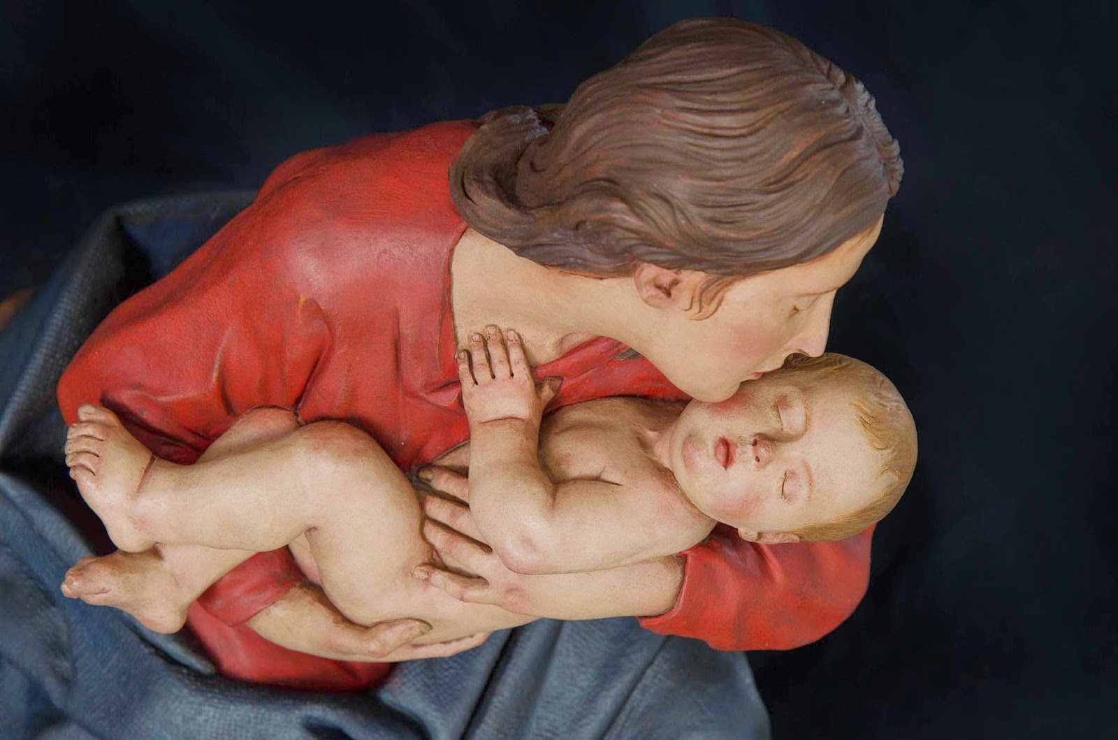 Nacimiento Belén Nativity presepe Arturo Serra Barro cocido 36