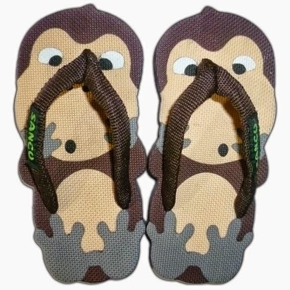 Sandal Sancu Monkey, Sandal Sancu