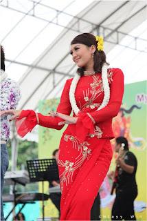 myanmar celebrity model