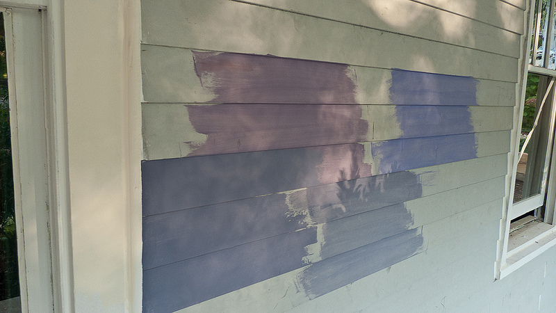 My Old Atlanta Home Picking Paint