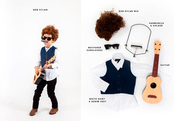 Disfraces Halloween: Bob Dylan