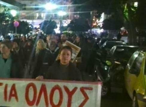 ΠΡΙΝ ΑΠΟ ΛΙΓΟ: Ολοκληρώθηκε η πορεία των διοικητικών υπαλλήλων του Πανεπιστημίου - Ζητούμενο η επιστροφή των