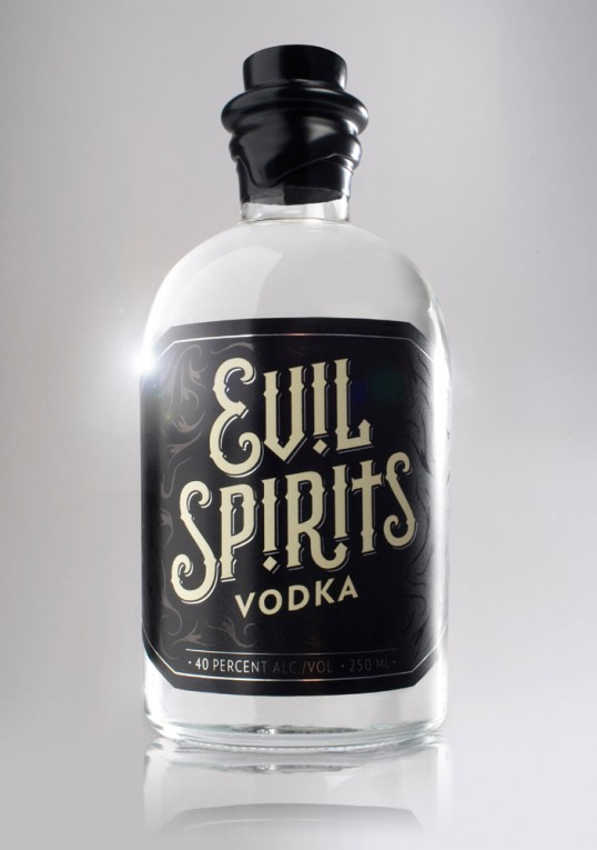 Meet Your New Favorite Drink: Evil Spirits Vodka Puts Ghosts in Your Glass