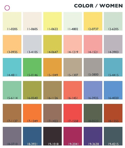 Colour trends ss 2017 - Spring Summer 2014