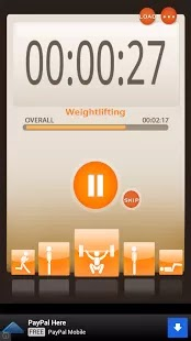 Manage your daily workouts the free way with your Android device and Workout Orgnaizer App