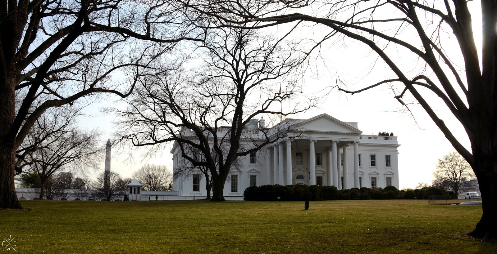 The White House - La Maison Blanche, Washington DC, USA