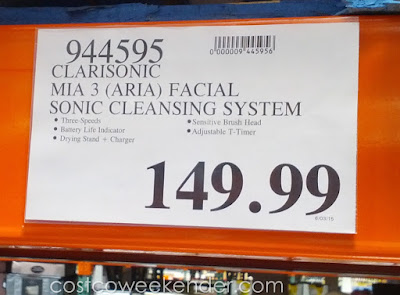 Deal for the Clarisonic Mia 3/Aria Facial Sonic Cleansing System at Costco