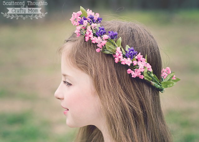 How To Make A Flower Crown on flower crown headband
