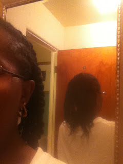 Back view - African Hair Threading